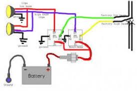 dual horn relay wiring diagram wiring diagram