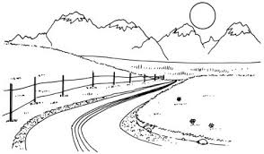how to draw a mountain vista in 5 steps howstuffworks