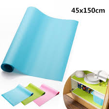 online get cheap cabinets mats aliexpress com alibaba group 45x150cm oil resistant kitchen drawer mat shelf liner fridge cabinet pastel pad waterproof pad tables tableware