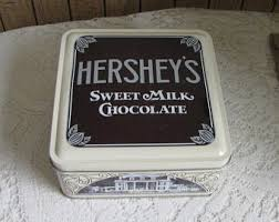 kitchen collection hershey pa vintage hershey tin etsy