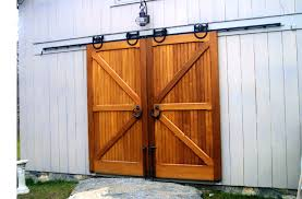 farmhouse outdoor lighting barn door rail system decor exterior sliding track craft room home