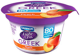 dannon light and fit nutrition dannon light and fit greek peach yogurt nutrition facts www