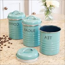 kitchen canisters blue blue canister set lovely vintage 3 porcelain canister set