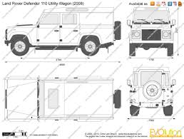kahn land rover defender double cab blueprint with dimensions cars pinterest land rovers land