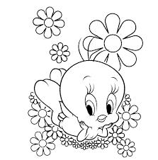 print u0026 download coloring pages tweety bird