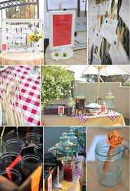 my texas sized bridal shower backyard bridal shower wedded