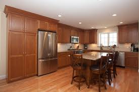 l shaped kitchen design medium color maple kitchen cabinets with