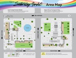 Eugene Map How To Get To Eugene Saturday Market