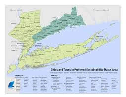 Map Of Ct Towns Preferred Sustainability Status Application Now Online