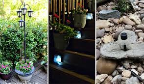 what is the best solar lighting for outside 20 cool and easy diy ideas to display your solar lighting