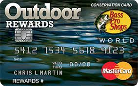 Sle Of Credit Card Statement by Credit Card Application Bass Pro Shops Outdoor Rewards Mastercard