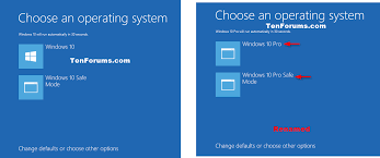 install windows 10 bootloader change operating system name at startup in windows 10 windows 10
