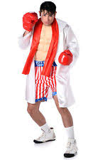 Boxer Halloween Costume Men Rocky Balboa Costume Ebay