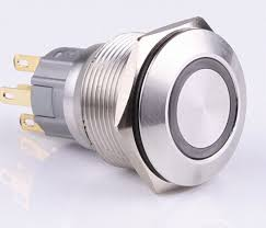 12 volt push button light switch china top quality 19mm momentary 12 volt green led illuminated 1no