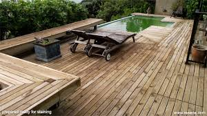 how to build a deck nz a nicely stained or oiled deck can make a huge difference to how