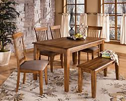 Good Ashley Furniture Dining Table With Bench  With Additional - Ashley furniture dining table images