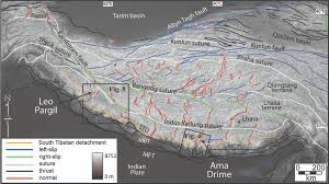 Himilayas Map Mid Crustal Processes In The Himalaya