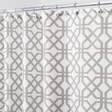 amazon com interdesign trellis fabric shower curtain 72