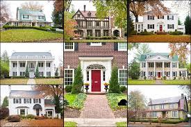 large luxury homes large american luxury homes collage stock image image 27750931