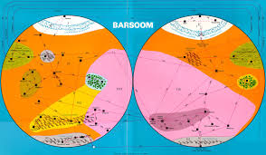 Mars Map Erbzine 2807 Maps Of Barsoom