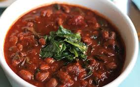 black eyed pea chili with collards vegan gluten free one