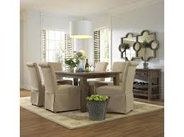 Skirted Parsons Chairs Dining Room Furniture Slater Mill Pine Slipcover Skirted Parson Chair With Linen Look