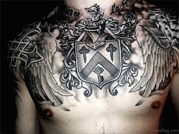36 stunning armour tattoos on chest