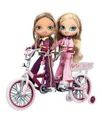 bratz kidz tandem bike 2 dolls amazon uk toys u0026 games