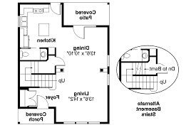 Contemporary House Floor Plans Cottage House Plans Emerson 30 108 Associated Designs