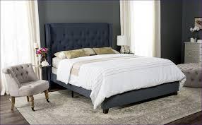 Iron Platform Bed Bedroom Amazing White Wooden Bed Frame Light Wood Bed Tufted