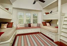 21 most amazing design ideas for four kids room architecture