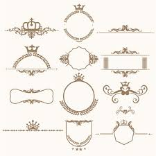 decorative ornaments collection vector free