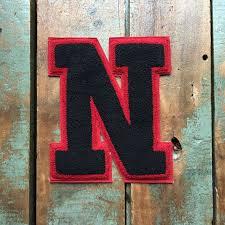 large vintage letterman patch n patch letterman jacket patch