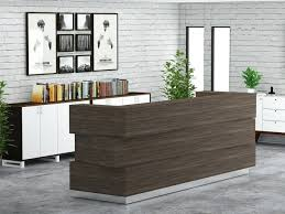 Reclaimed Wood Reception Desk Desk Wooden Reception Desk Wood Pallet Reception Desk Wooden