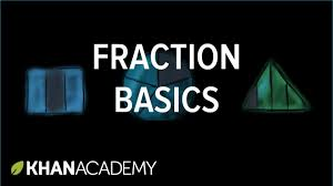 fraction basics fractions 3th grade khan academy youtube