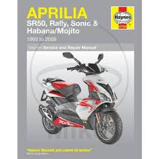 haynes workshop manual aprilia sr 50 sonic 50 amazon co uk