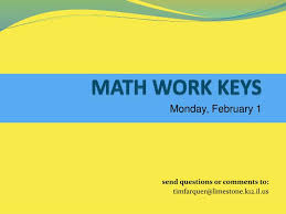 ppt math work keys powerpoint presentation id 48633