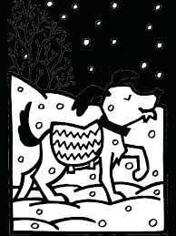 winter coloring pages in free disney holiday printable free