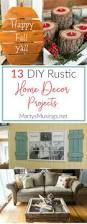 13 diy rustic home decor projects marty u0027s musings