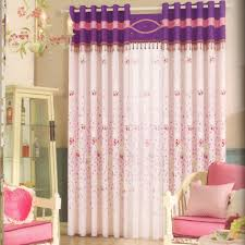 cute baby nursery curtains beaded lace no valance