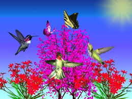 Flower And Bird - flowers for flower flowers desktop wallpapers with small