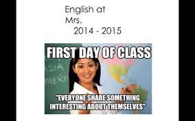 Memes For School - first day of school activity and meme powerpoint to go over syllabus