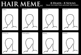 Meme Design - hair design meme version 1 by salmiraeon on deviantart