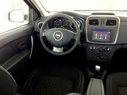 renault sandero interior 2017 dacia sandero dci 90 easy r acceleration throttlechannel com