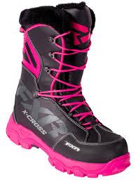 womens snowmobile boots canada fxr womens x cross boot 2018