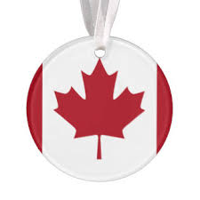 canadian maple leaf ornaments keepsake ornaments zazzle