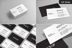 Business Cards Mockups Business Card Mockups Us Sizes Graphics Youworkforthem