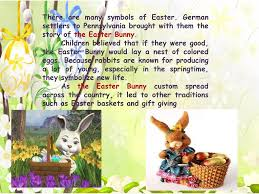 the story of the easter bunny easter history symbols and traditions ppt online