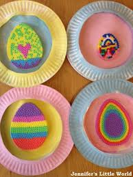 Easter Decorations Paper by Jennifer U0027s Little World Blog Parenting Craft And Travel Hama