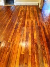 pine floors refinished with bona drifast sealer and bona